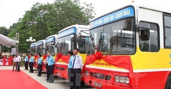 Quảng cáo xe Bus