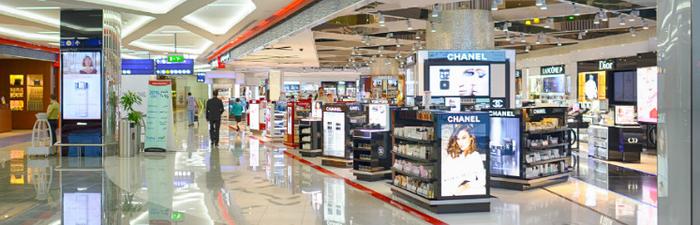 Quảng cáo LCD tại các siêu thị lớn hiện đại