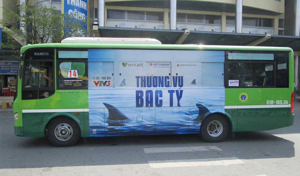 Quảng cáo xe buýt toàn quốc với dịch vụ trọn gói của BRANDCOM