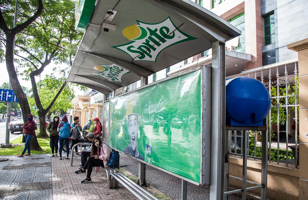 Quảng cáo trạm chờ xe buýt nơi tiếp thị lý tưởng