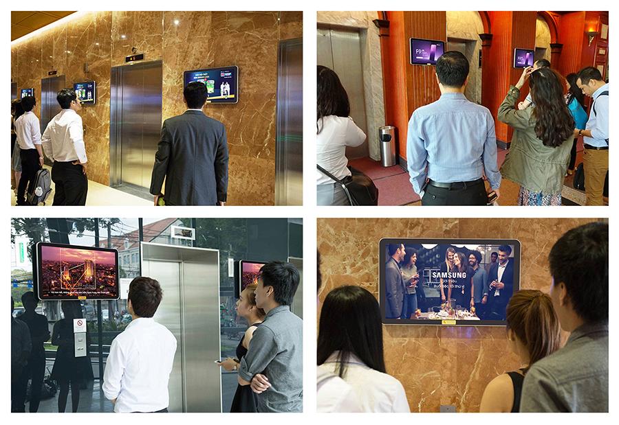 Báo giá quảng cáo LCD trong thang máy tại TP HCM