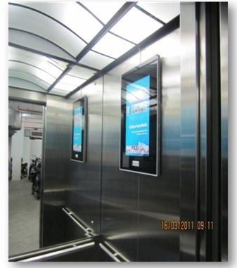 Bảng giá quảng cáo LCD trong thang máy tại Đà Nẵng