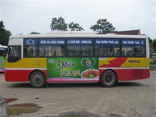 Quảng cáo xe buýt tại Bắc Ninh