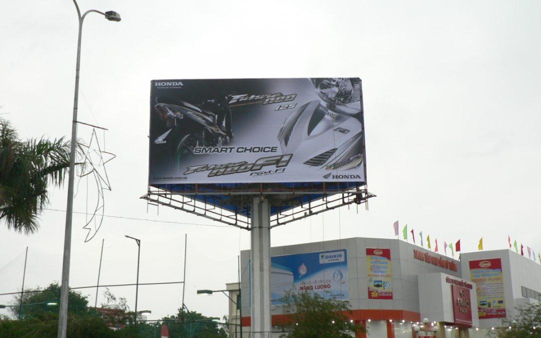 Brandcom cung cấp quảng cáo ngoài trời vị trí đẹp